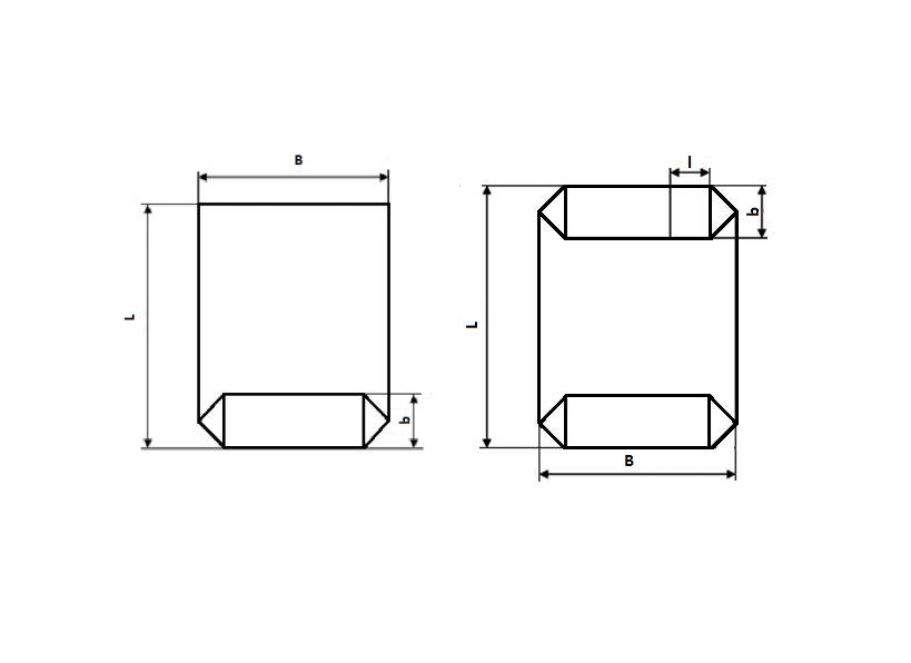 Полипропиленовые мешки коробчатого типа
